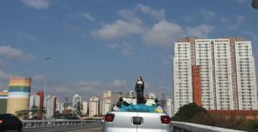 Santa Paulina no coração da cidade de São Paulo